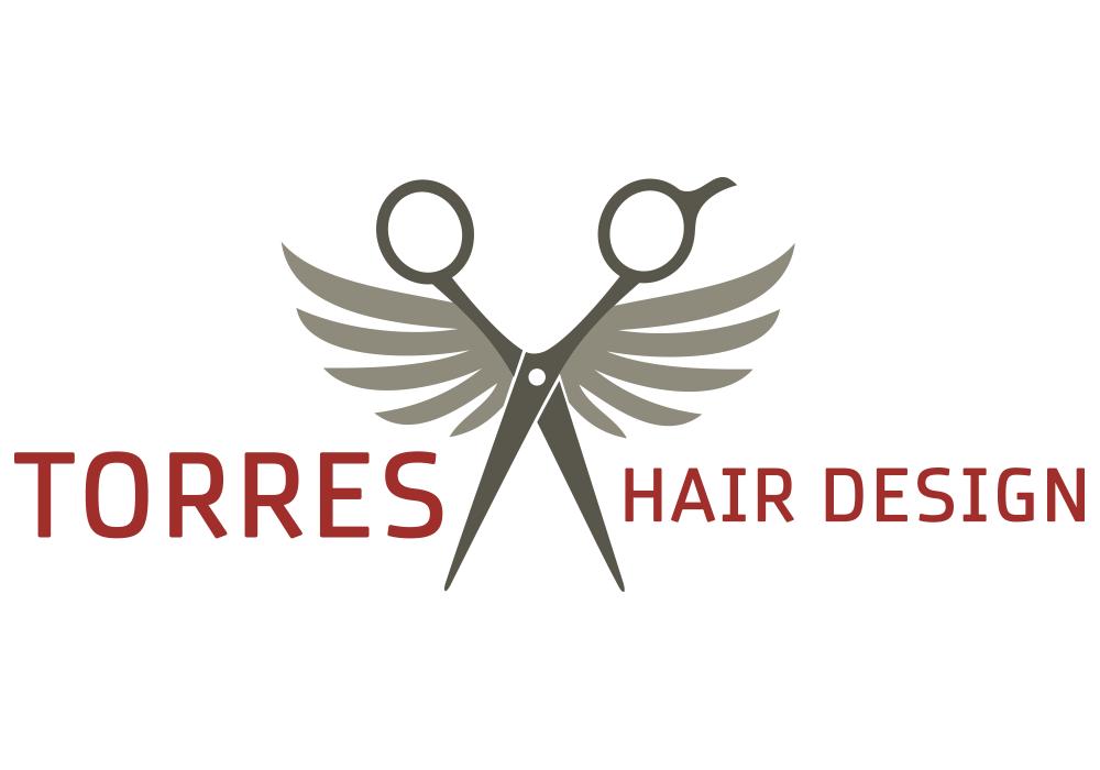 torres hair design logo flywheel creative hair salon logo clip art hair salon logo ideas